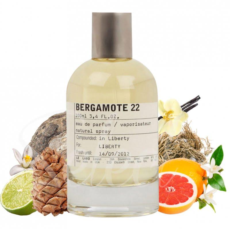 Nước Hoa Le Labo 22 Bergamote