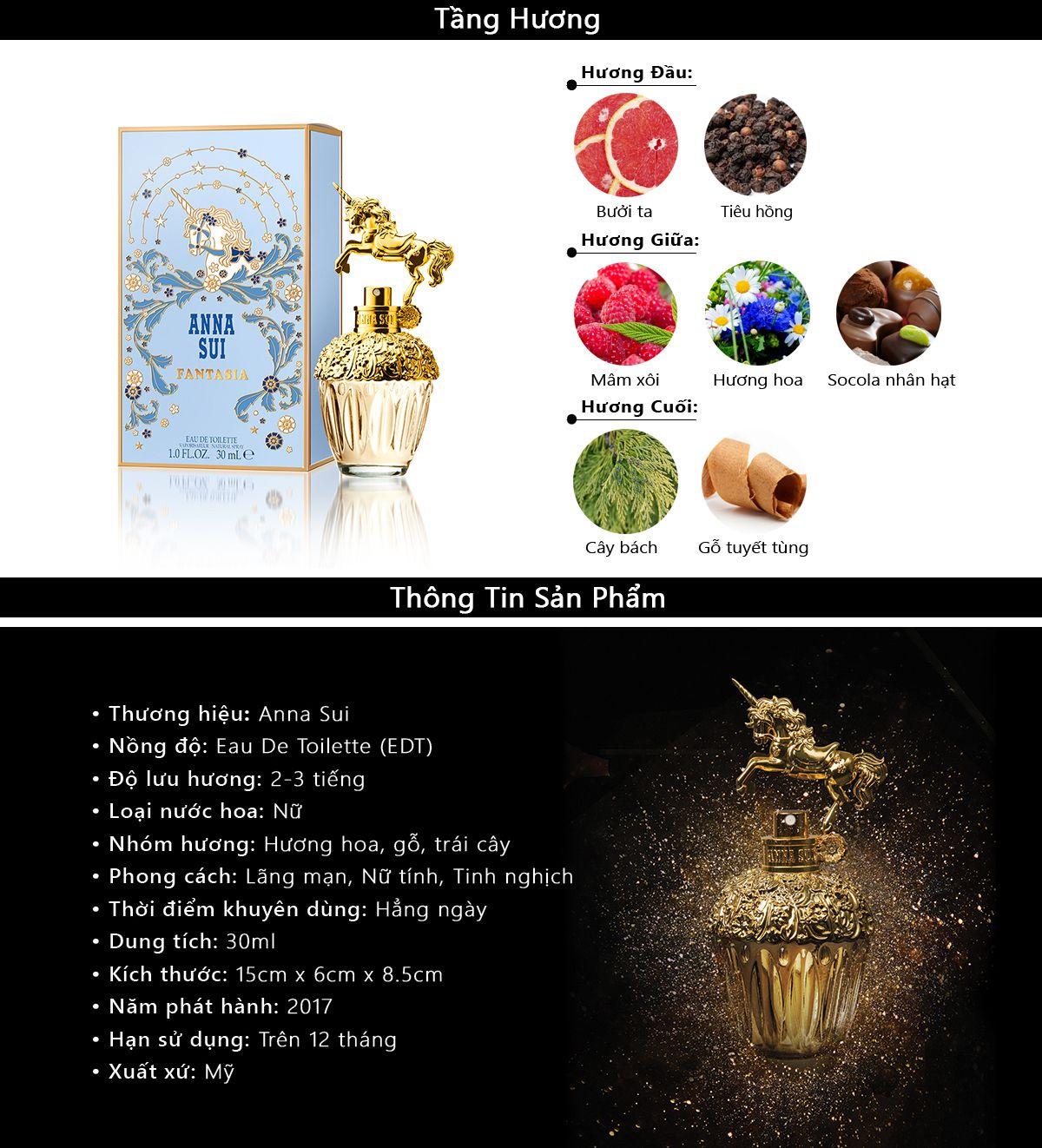 Nước Hoa Anna Sui Fantasia 75ml