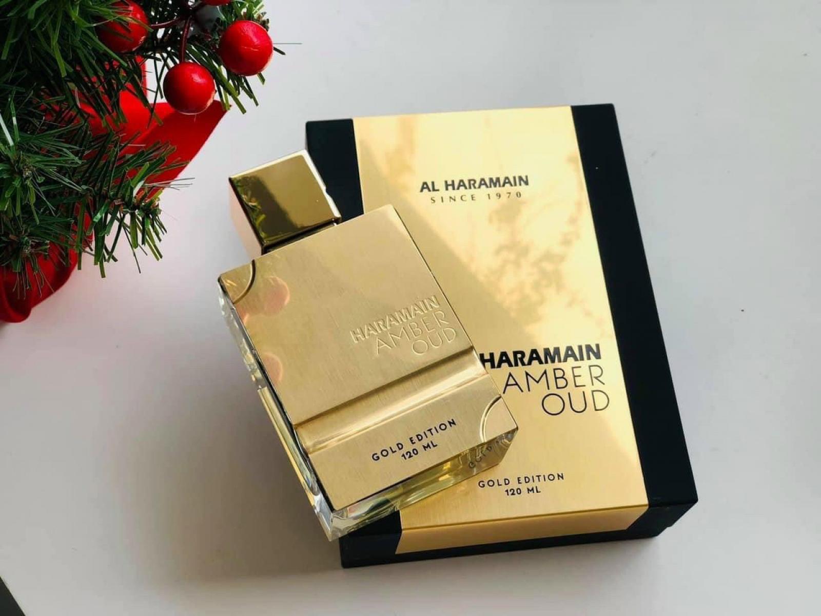 Nước Hoa Al Haramain Amber Oud Gold Edition EDP 60ml
