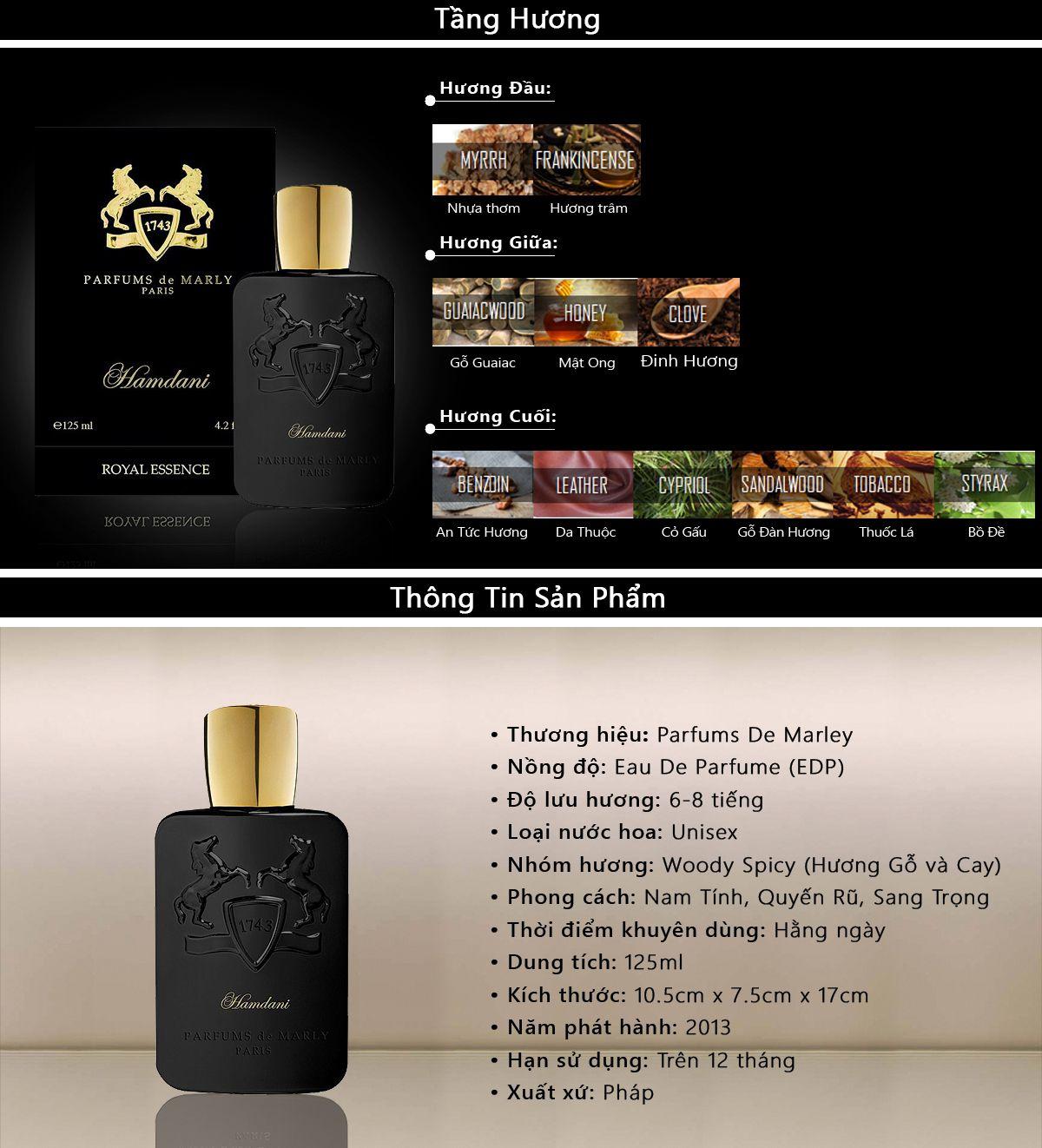 Nước Hoa Parfums De Marly Hamdani Royal Essence EDP