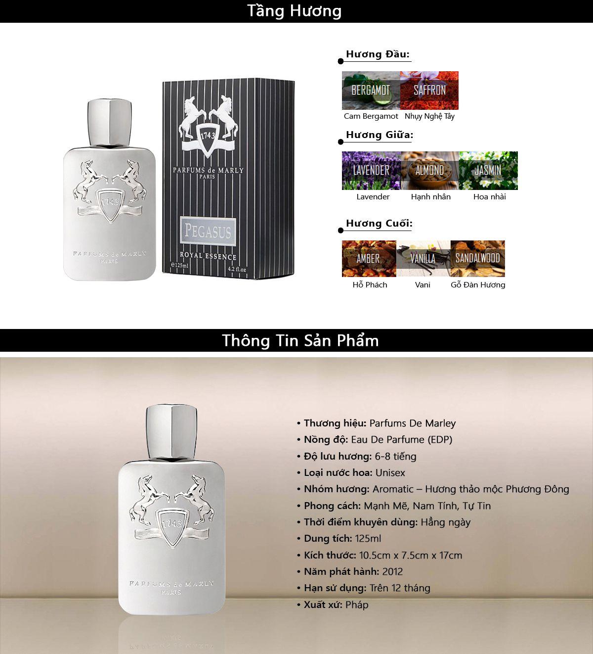 Nước Hoa Parfums De Marly Pegasus Royal Essence EDP