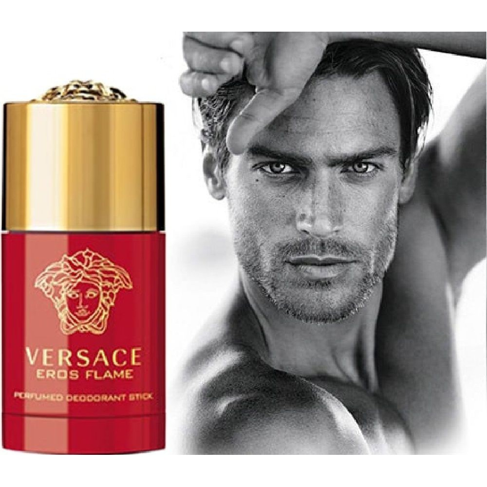 Lăn Khử Mùi Versace Eros Flame Perfumed Deodorant Stick